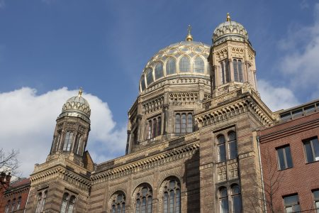 """New Synagogue in Berlin, Germany"""