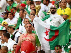 והיו גם אוהדי אלג'יריה שנסעו לברזיל